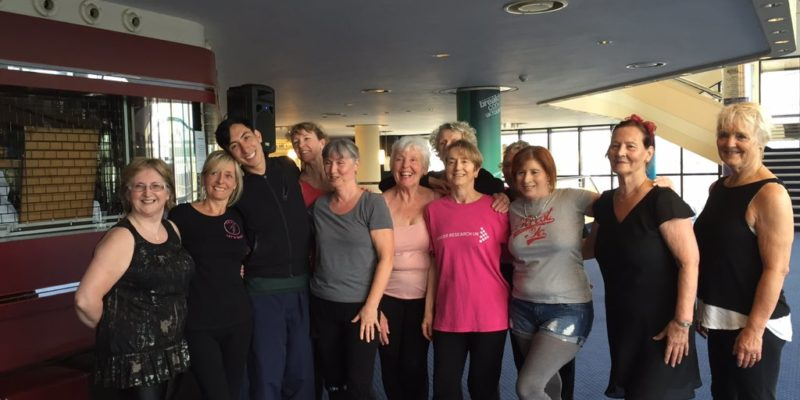 55+ Dance Class with Peter Chu from Nederlands Dans Theater